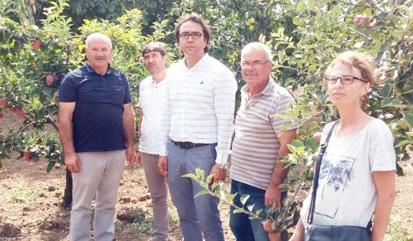 Türkyılmazlar'ın üretim sahasını gezdiler