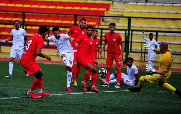 Derbinin galibi Çatalcaspor oldu1-0