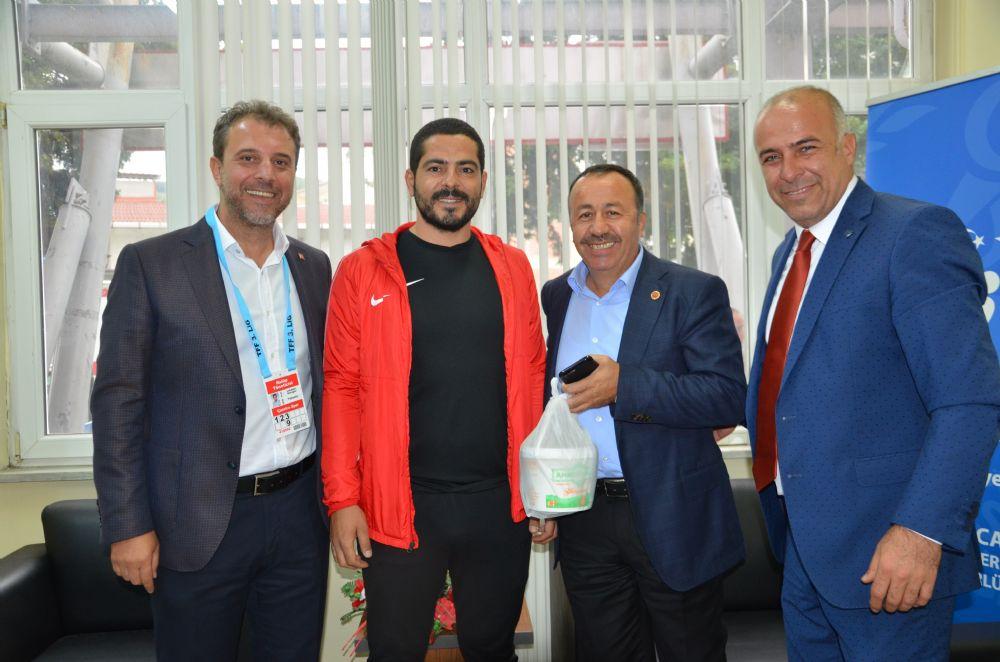 Koyuncuoğlu'dan Çatalcaspor'a ziyaret
