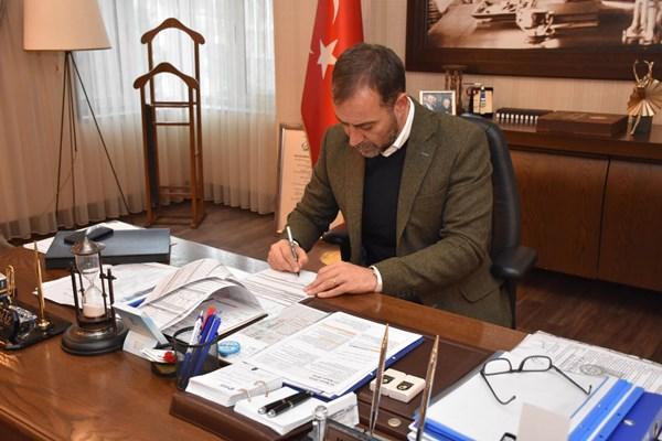 Başkan Yılmaz, yeni Emniyet Müdürlüğü bina ruhsatını onayladı