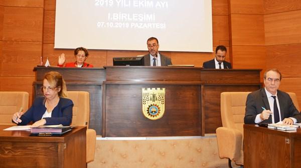 Ekim Meclisi I. Oturumu yapıldı