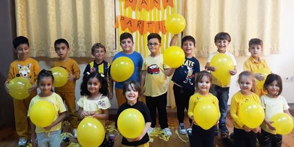 Uçan Balonlar Sınıfının etkinlikleri