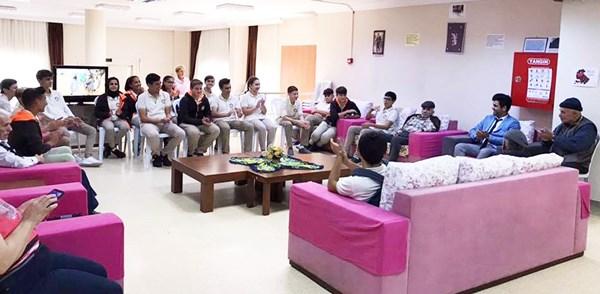 Tarım Lisesi öğrencilerinden Gönüllü Torun projesi