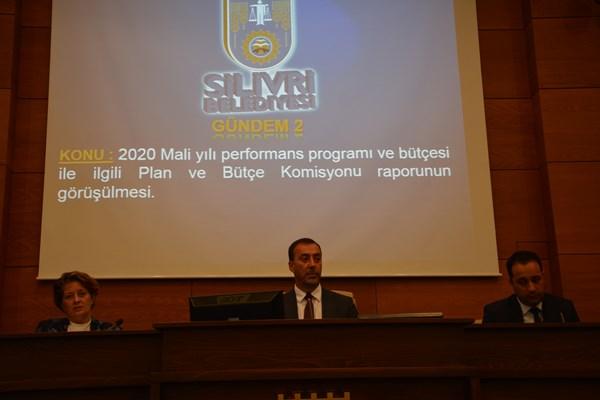 Silivri'nin 2020 Yılı Performans Programı kabul edildi