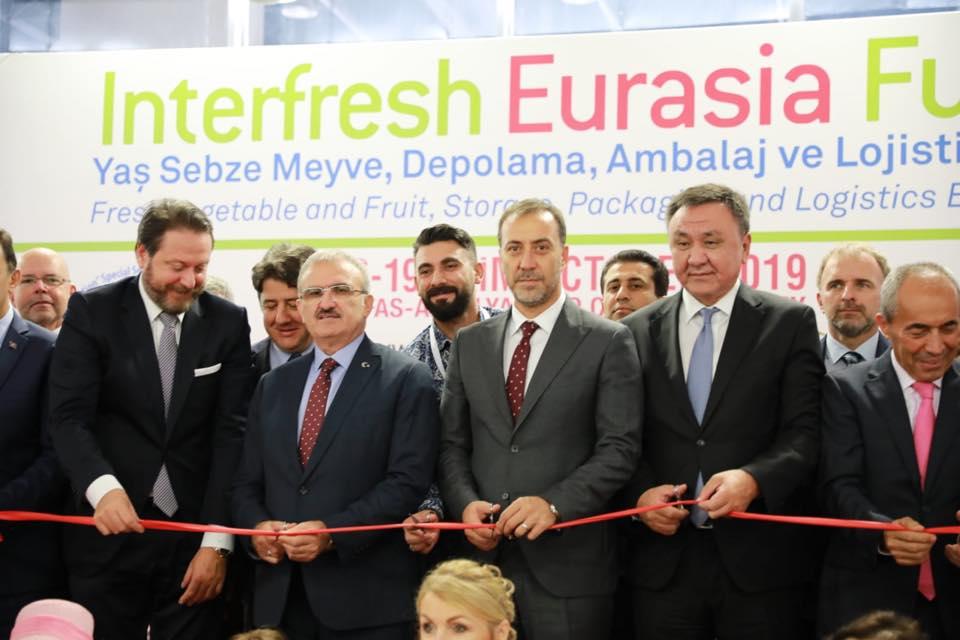 Silivri Interfresh Eurasia Yaş Sebze ve Meyve Fuarında yerini aldı