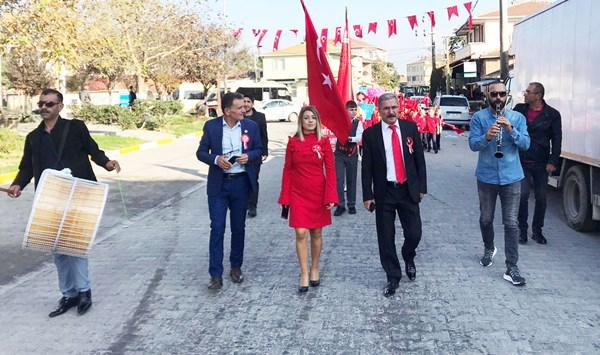 Kadıköy'de Cumhuriyet Bayramı sevinci