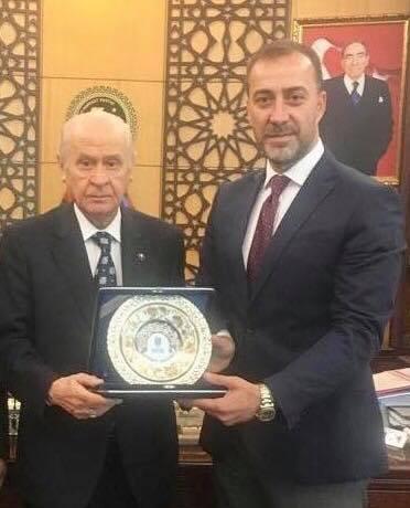Başkan Bey Ankara temaslarında