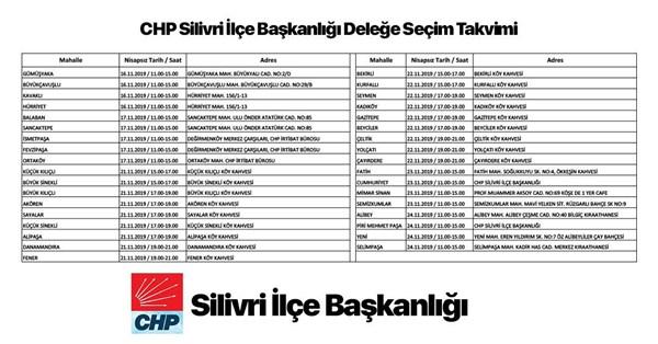 CHP'de delege seçimleri 16 Kasım'da başlıyor