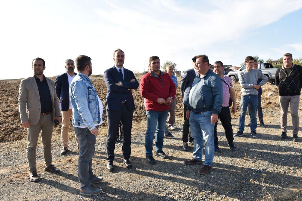 Silivri Belediyesi 300 dönüm arpa tohumu ekti
