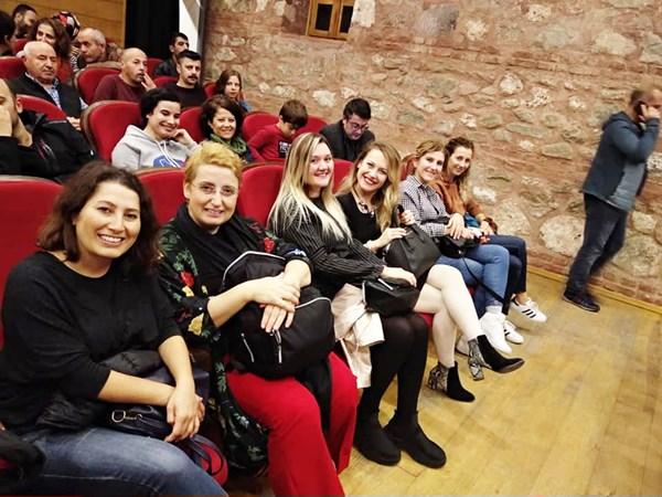Tiyatrosunu da birlikte izlediler