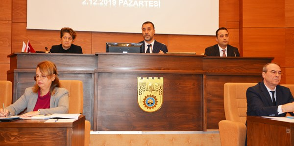Aralık Ayı Meclisi'nin 1. Oturumu gerçekleşti