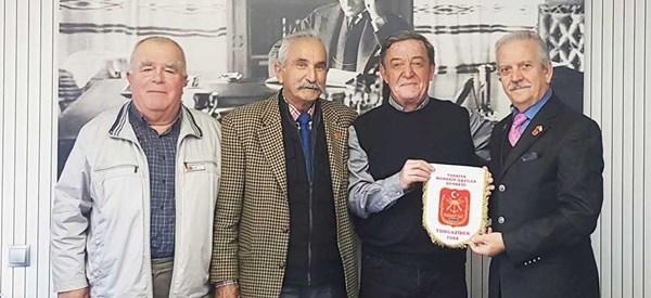 Gazilerden, Sofuoğlu'na nezaket ziyareti