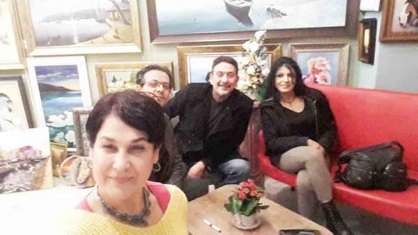 Turkuaz Derneği'nden Kırmızı Sanat Evi'ne ziyaret