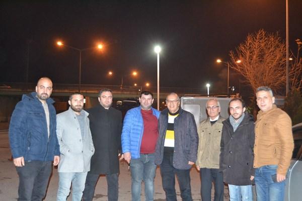 İYİ'lerden yılbaşı gecesi çalışan kamu görevlilerine ziyaret