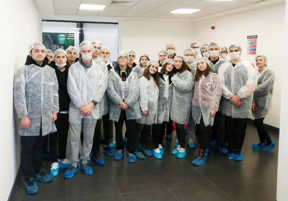 Kimya Dersi kapsamında Selüz Kimya Fabrikası'na gezi