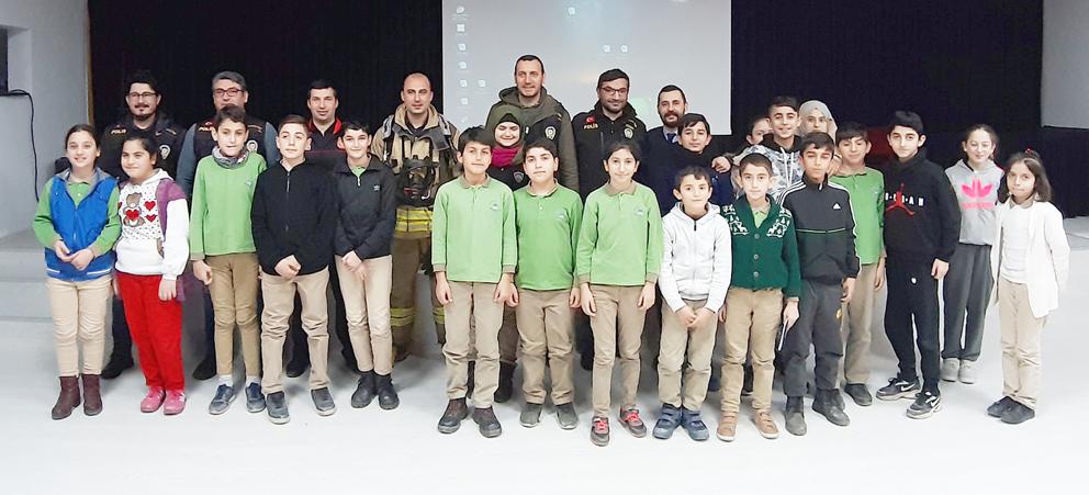 Namık Kemal Ortaokulu'nda Meslek Tanıtım Programı