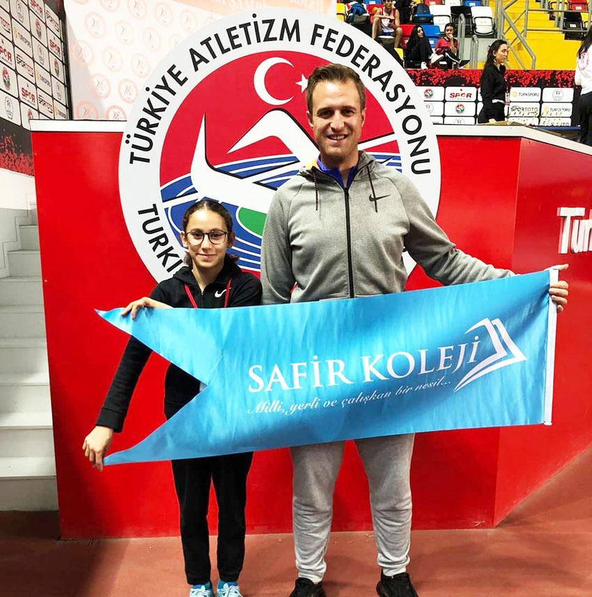 Atletizm'de iki İstanbul derecesi birden