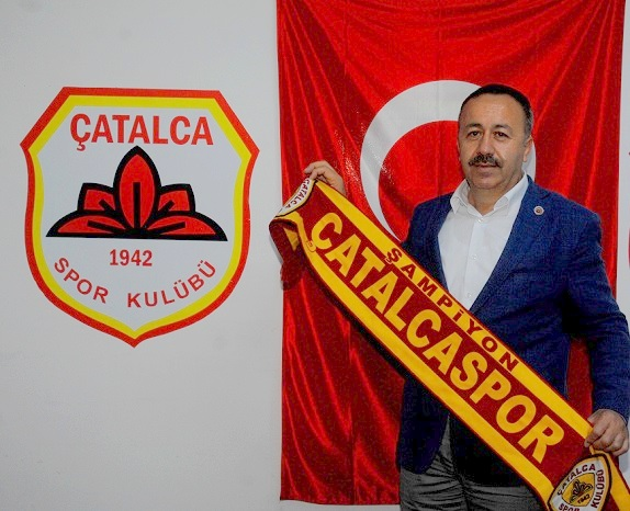 """Gökçe; """"Çatalcaspor'umuz hedefine varacaktır"""""""