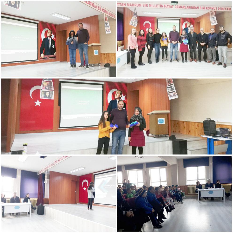Alipaşa Fethi Erkoç öğrencileri, Barış Manço'yu unutmadı