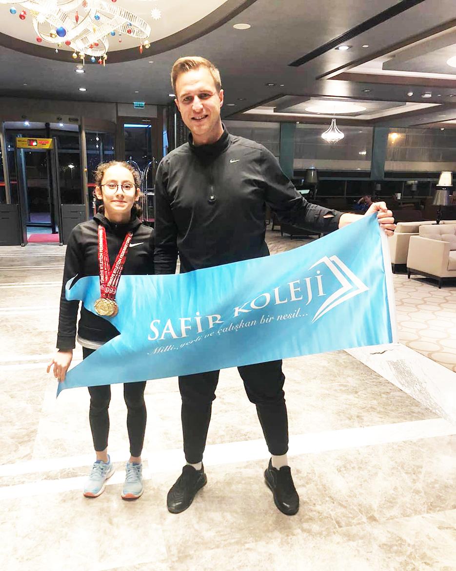 Safir öğrencisi Türkiye Şampiyonu oldu