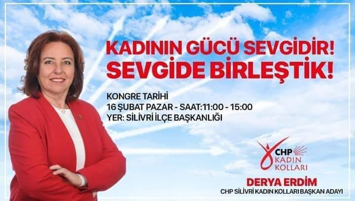 Erdim, CHP Kadın Kolları Başkanlığına talip