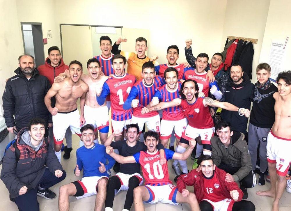 Silivri'nin gençleri liderliği aldı 3-1