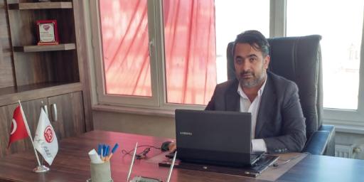 Rahmi Çelik'ten Ortaköy'e malzeme desteği