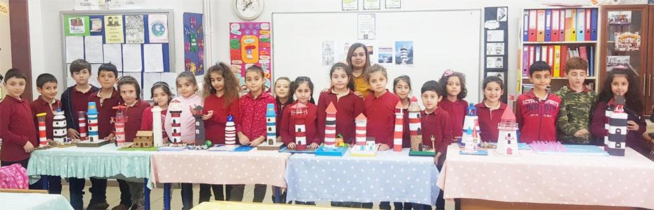 Fatih İlkokulu'nda Deniz Fenerleri stem aktiviteleri