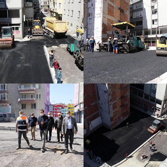 Yılmaz: Eksik olan sokaklarımıza asfalt kazandırmaya devam edeceğiz