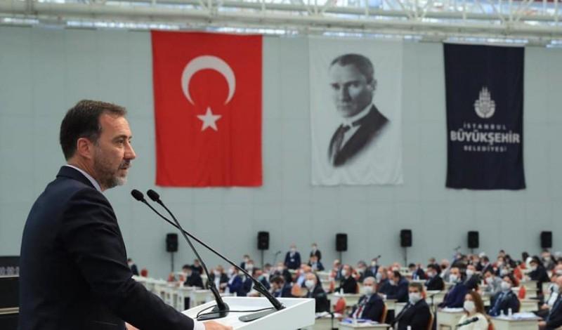 Başkan Yılmaz'dan İBB meclisinde Ayasofya mesajı