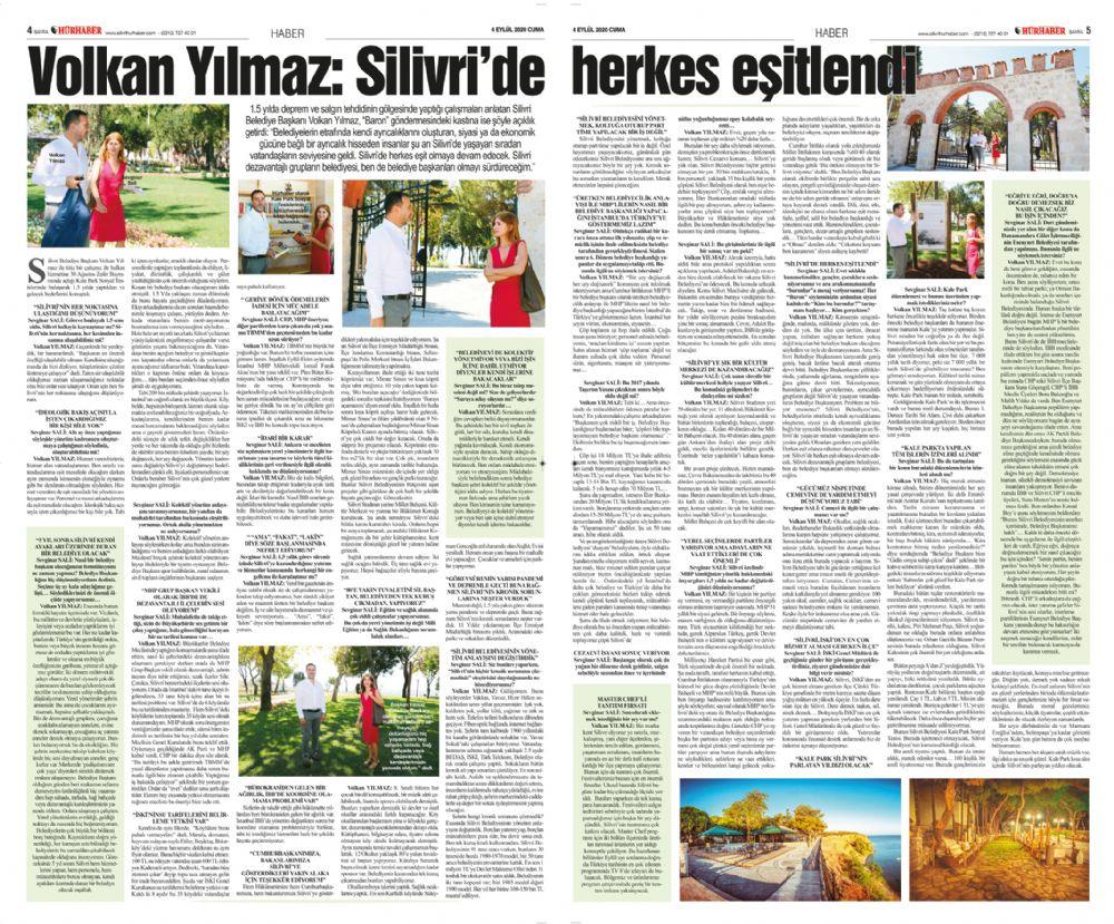 Volkan Yılmaz: Silivri'de herkes eşitlendi