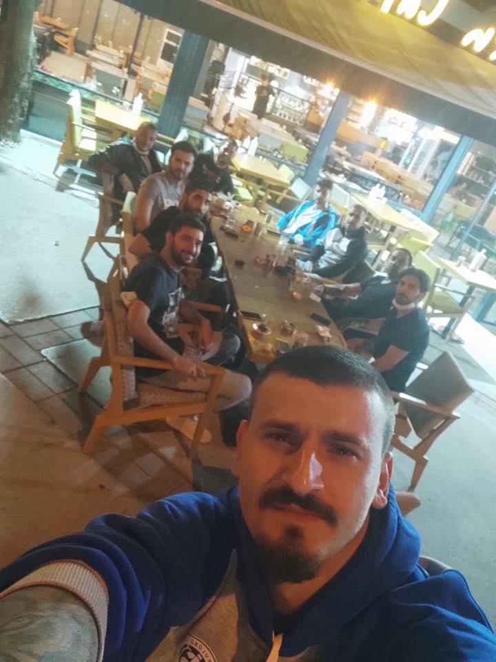 Futbolcular İstanbul'a gelmek için yola çıktı