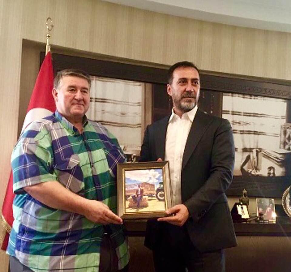 Muhtar Köse Beyciler halkı adına Başkan Yılmaz'a teşekkür etti