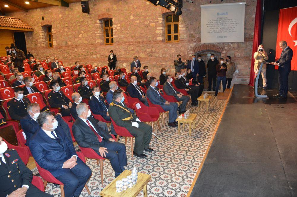 """""""Cumhuriyet'imizin değerlerini yükseltmek güçlü devlet ve toplumla mümkün"""""""