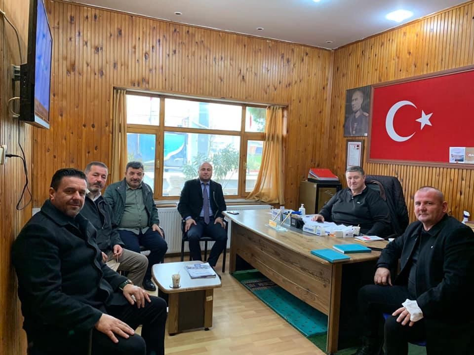 Beyciler muhtarı Köse, MHP'ye taleplerini iletti
