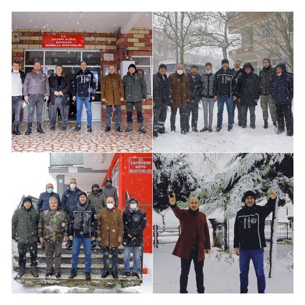 Yalçın: Belediyemiz karla mücadelede başarılı bir sınav verdi