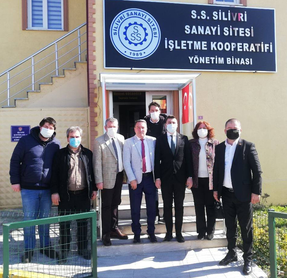 CHP'den Çalışkan'a ziyaret