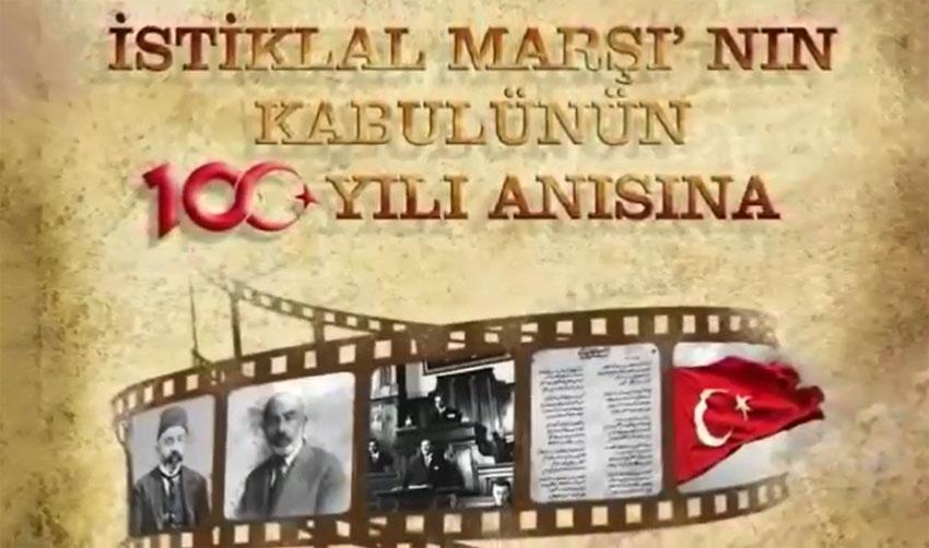 41 İlden 41 öğrenci İstiklal Marşı'mızı okudu
