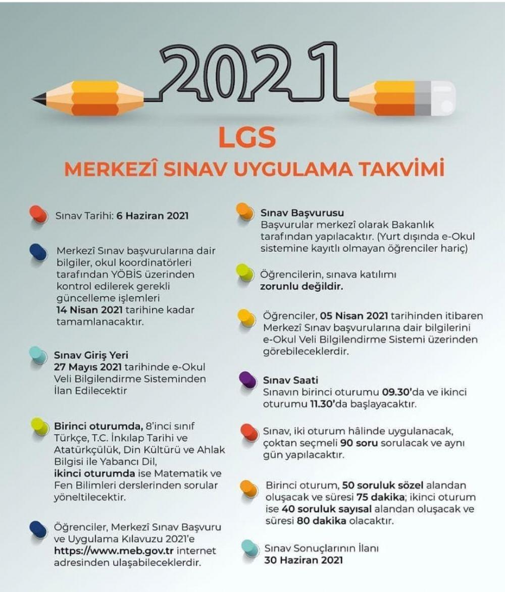 2021 LGS Kılavuzu yayımlandı