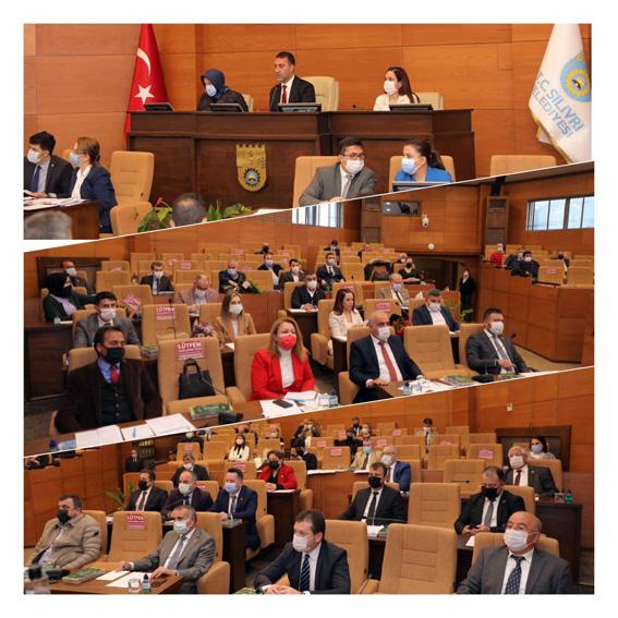 Yeni dönem meclis görev ile komisyonları belirlendi