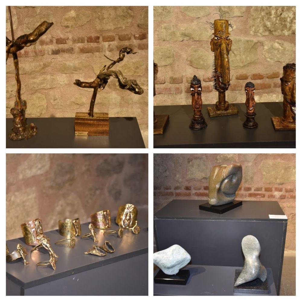 Silivri Sanat Platformu'ndan heykel sergisi