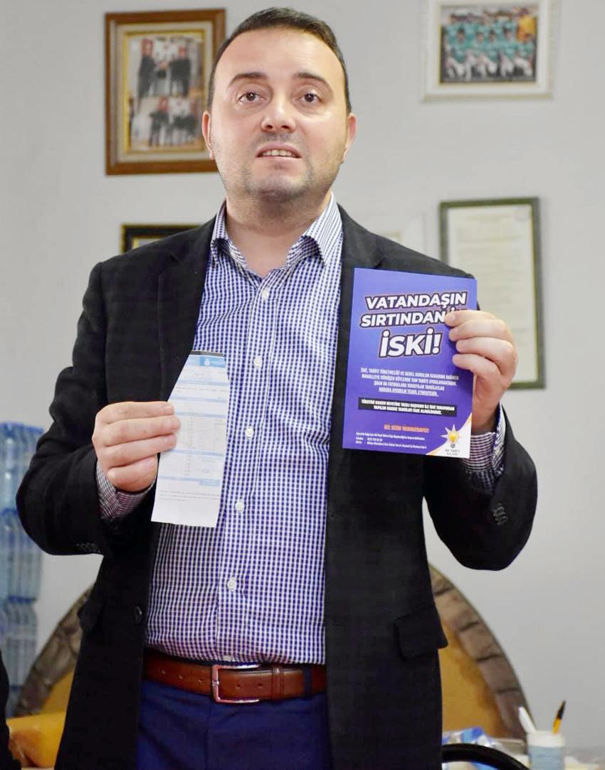 Bozoğlu: CHP'li İBB Başkanı vatandaşın sırtından inmeyi değil, binmeyi tercih etmiştir!
