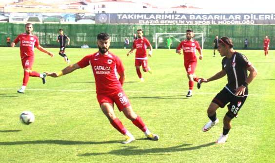 Çatalcaspor'a dakikalar yetmedi 3-4